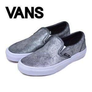 VANS Classic Slip-On Metallic Silver